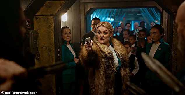 Now, Alison's rising star is on the up-and-up, with the actress currently starring in hit Netflix show Snowpiercer, with the finale to the second season airing last night