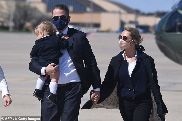 Hunter ends the book where he currently is in life: sober, living in California with his second wife, Melissa Cohen Biden, and their baby son, Beau. Hunter Biden also has three daughters from his previous marriage