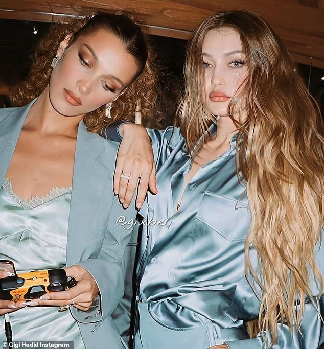 Famous family: She and Gigi have become the most famous sister duo in fashion, following in mom Yolanda's footsteps