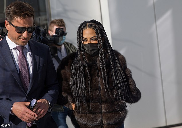 """""""The Real Housewives of Salt Lake City"""" star Jen Shah leaves federal court in Salt Lake City"""