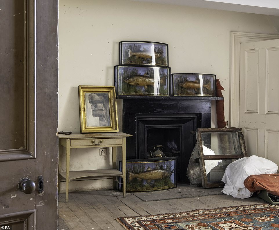 The Dunrobin attic sale, which will take place at Bonhams in Edinburgh, on April 20, will see the treasure trove of items go up for sale including a selection of paintings and giltwod frames