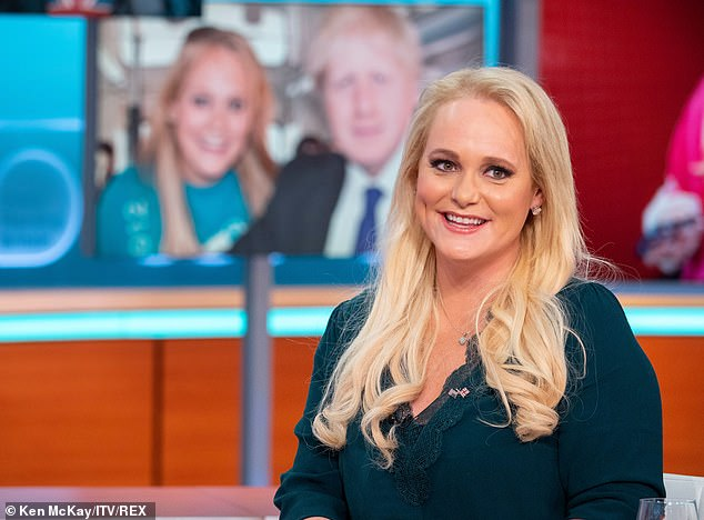 Jenni Murray discusses the photo of Jennifer Arcuri (pictured) which was splashed all over the newspapers this week, where she took a selfie in Boris Johnson's kitchen with two wine glasses in the background
