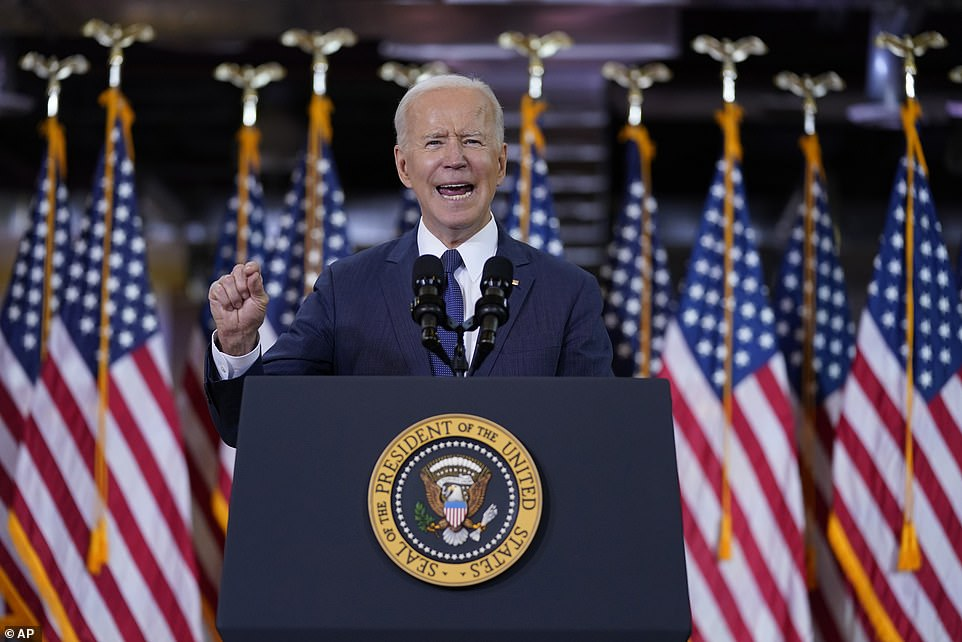President Joe Biden debuted his $2 trillion infrastructure plan Wednesday in Pittsburgh, Pennsylvania, explaining that Americans who make under $400,000 wouldn't pay more, but the wealthy should