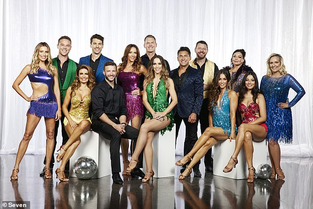 Ready for it!Dancing With The Stars is coming soon to Channel Seven (cast pictured)