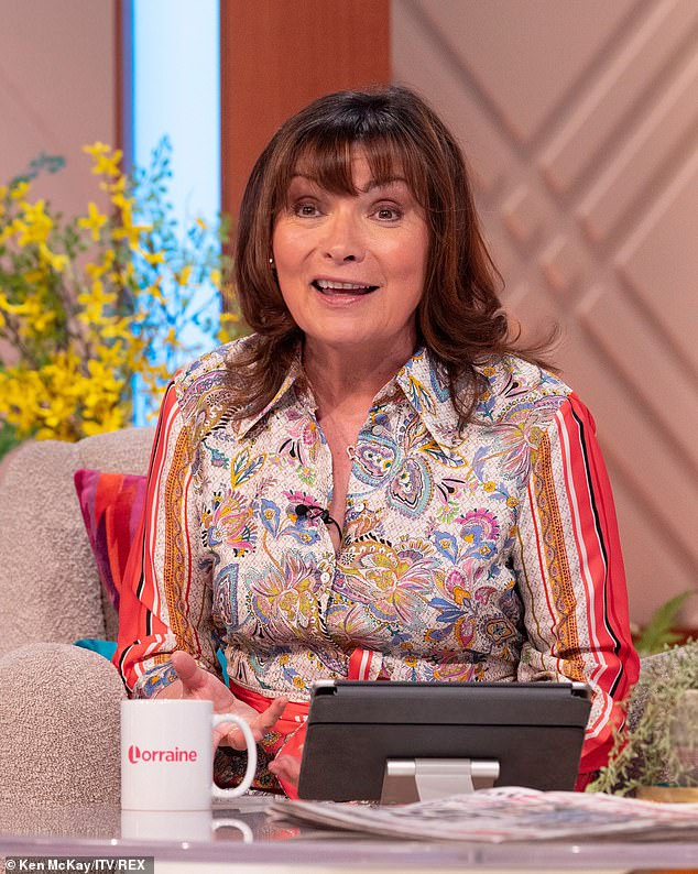 Departure:The presenter will fill in for the veteran broadcaster (pictured) for five shows next week and gushed she was looking forward to reuniting with some 'old friends'