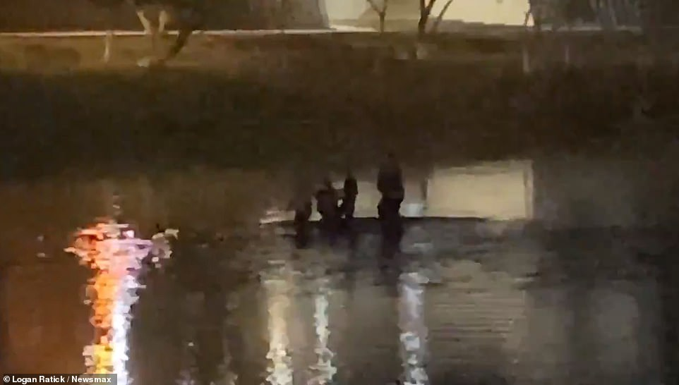 The bodies of six migrants were found in a shallow, narrow part of the river by Eagle Pass Tuesday night, according to Newsmax