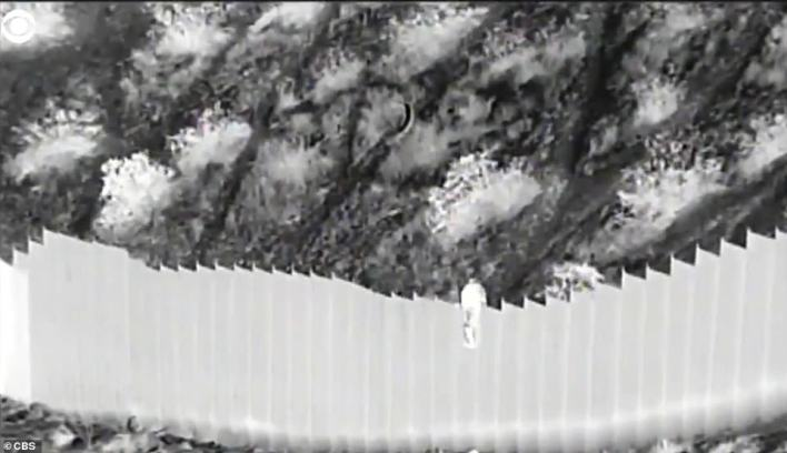 Disturbing footage released by US Customs Border and Protection Wednesday captures the moment two female toddlers from Ecuador, aged three and five, were dumped over the wall just west of Mt. Cristo Rey, near El Paso, Texas, Tuesday evening