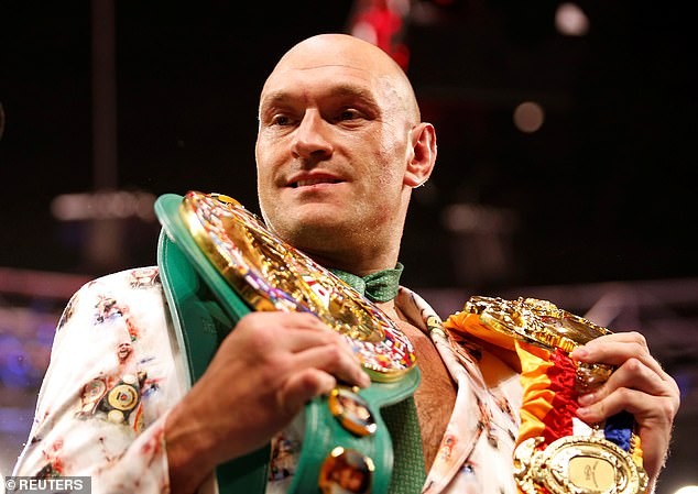 Fury is a great showman at press conferences and likes to get inside his opponents' heads