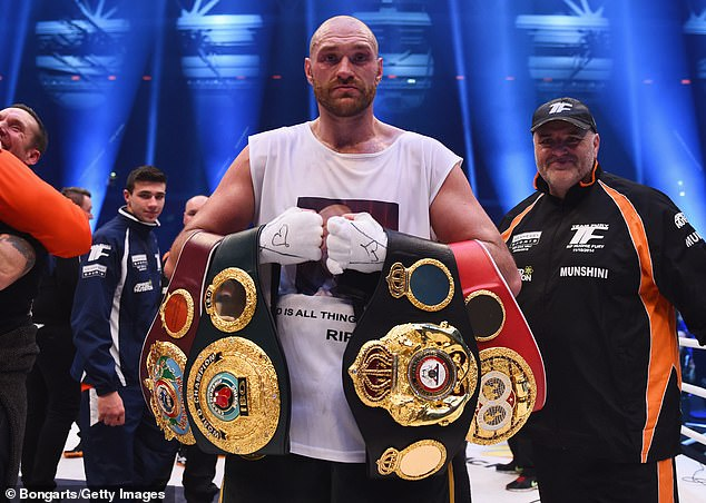 Fury went on to win in Germany after ensuring Klitschko had no edge before the fight