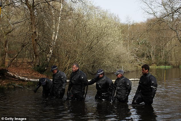 As well as searching the water and woods around Epping Forest, police have been making door-to-door enquiries with locals