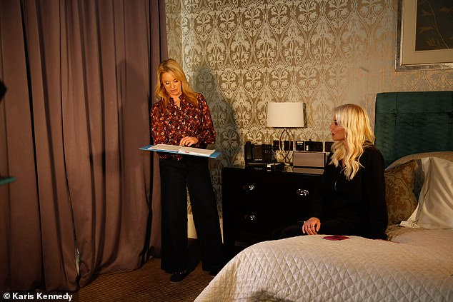Plot: The play, which Denise says has a touch of 'Essex humour', is set entirely in a hotel room and centres around her character reflecting on her life and future after an old flame returns