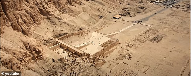 The kings and queens reigned during the 17th through 20th dynasties of ancient Egypt, which is 3,500 to 3,100 years ago, and a majority of them were discovered in two archaeological excavations in the late 1880s. Pictured is one of the sites inLuxor in the 1880s