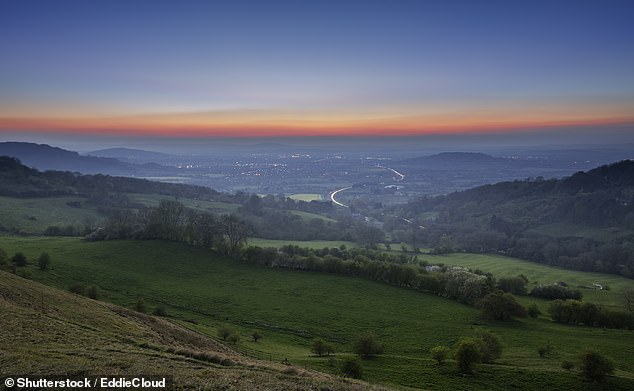 Vale of Gloucester is pictured at Twilight.Today, the number of British doggers is thought to reach into the tens or hundreds of thousands
