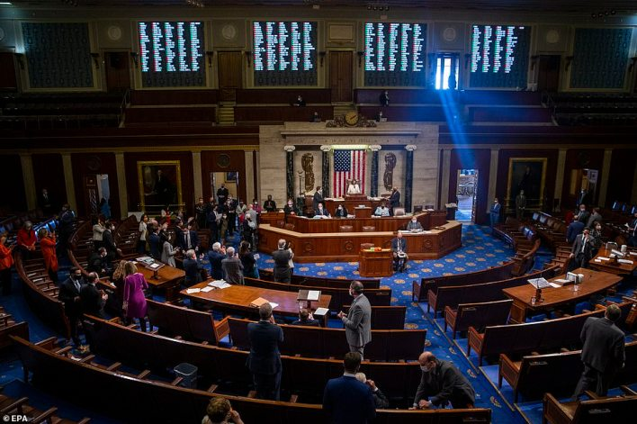 Multiple sources, including two people who said they had been shown the compromising photos first hand, told CNN the 38-year-old congressman displayed the images of the women on his phone including while he was on the House floor (above)