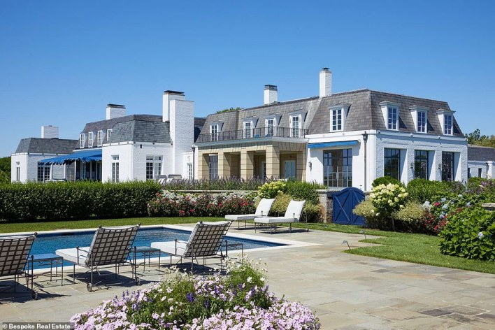 This home in Southhampton is under contract for a record $145million, making it the most expensive home sale in the Hamptons