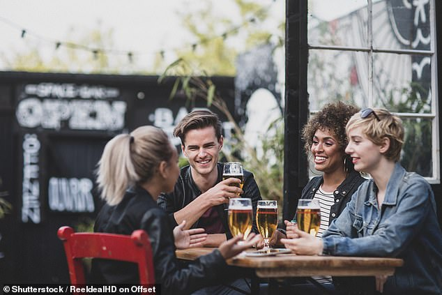 The British Beer and Pub Association (BBPA) says that while 75% of UK pubs have a beer garden or outside space, only 40% have enough room