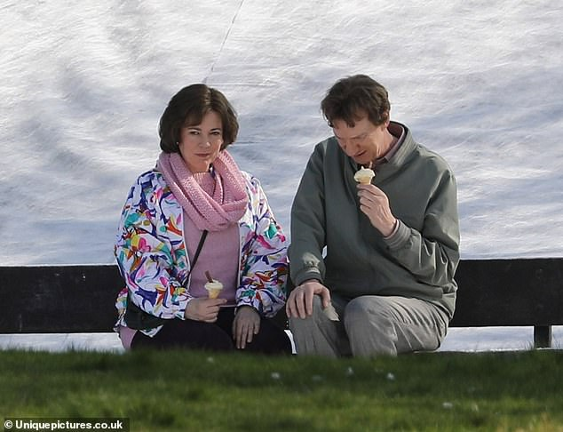 Olivia Colman and David Thewlis star as Susan and Christopher Edwards in Landscapers