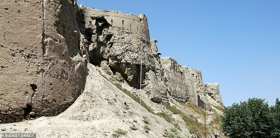 Ghazni is Afghanistan's only remaining walled city, and an important economic centre. The remains of the Citadel sit on a hill in the centre of the old city walls