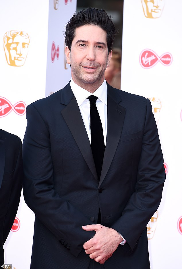 Getting into character? David Schwimmer has hinted that he and his Friends co-stars may briefly revive their characters when they get together onscreen
