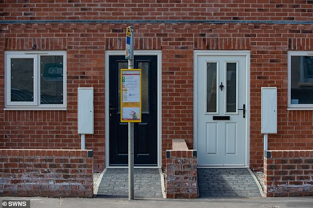 This brand new house in Stapenhill, Burton-on-Trent is too close to the nearest bus stop