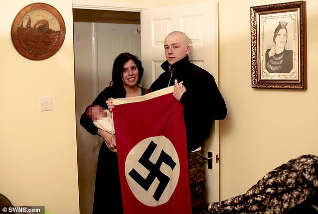 Adam Thomas and Claudia Patatas, who were part of National Action and had a 'long history of violent racist beliefs', gave their child the middle name Adolf in 'admiration' of Hitler