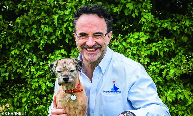'It really packs a punch':The star of Channel 4's series The Supervet thanked his fans for their well-wishes and urged people to be careful not to contract the virus