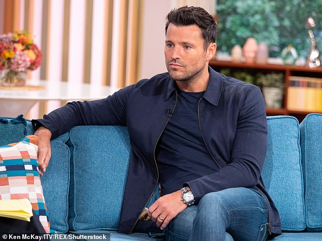 Heartbreaking:Mark Wright has emotionally detailed how Covid 'tore apart his family' after six relatives all battled the deadly virus within days of each other (pictured in 2019)