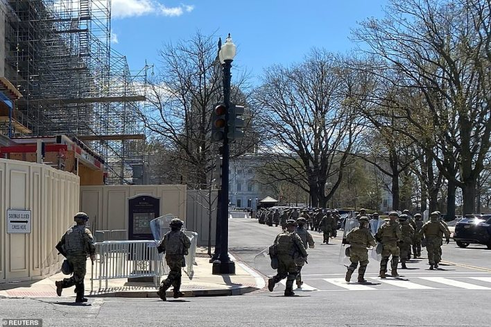 The DC National Guard deployed a rapid response team