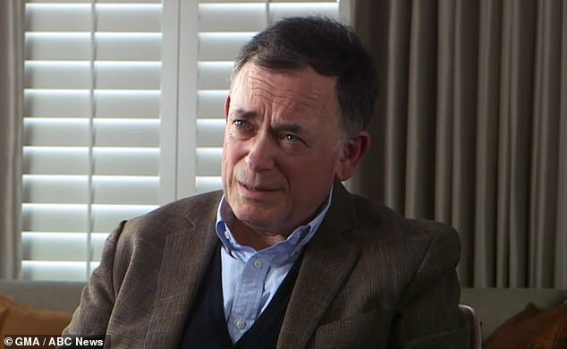 Ian Maxwell, pictured, has said his sister Ghislaine is a victim of hate and that she is being treated far worse than convicted male sex offenders such as Bill Cosby and Harvey Weinstein