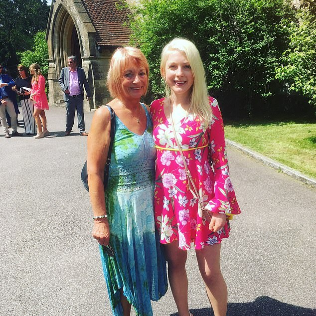 Helen Leaford, pictured left with her daughter Sarah, was forced to borrow £300 from friends to see a private doctor after her own GP refused to see her face-to-face