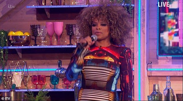 Amazing: Neil and Lorraine then had a surprise appearance from singer Fleur East where she sang her hit single Sax, and they had to finish the lyrics