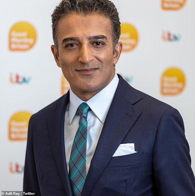 Co-hosting:Adil Ray will be co-hosting Good Morning Britain next week with Kate Garraway amid claims bosses plan to 'rotate presenters' after Piers Morgan's exit