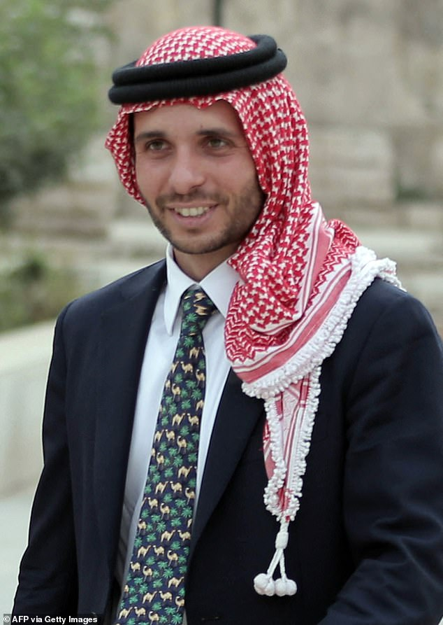 Prince Hamzah (pictured in 2015) went on to say: 'I am not the person responsible for the breakdown in governance, the corruption and for the incompetence'