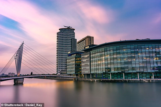 The 44-year-old angrily denied a report in a Sunday tabloid newspaper last year that he used BBC licence payers' money for the £200-a-time round trip from his Sheffield home to the Manchester studios (pictured)