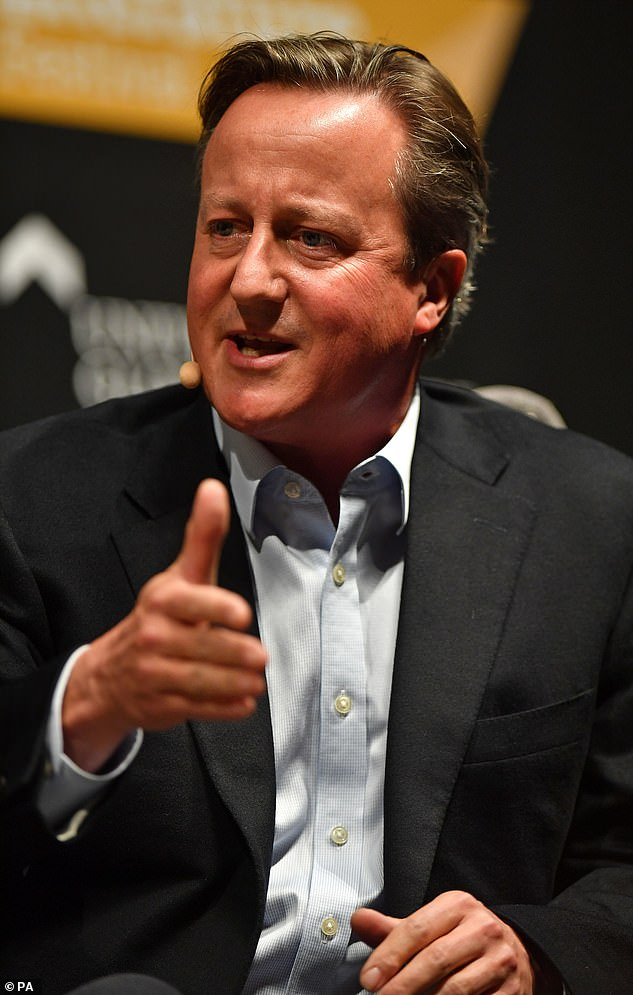 David Cameron has let himself down. And he knows it. ¿He was adviser for a company that went bust in a very public way. And he¿s told me he recognises that¿s embarrassing,¿ says a sympathetic Cabinet Minister