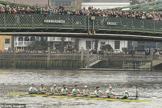 The move to Cambridge this year is said to have alleviated Covid fears from officials, with the River Thames event traditionally attracting thousands of spectators along the banks and on the bridges along the route