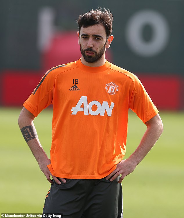 Bruno Fernandes, formerly of Sporting Lisbon, has been urging United to make a deal for him