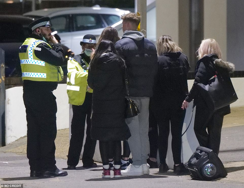 Sandbanks has some of the most expensive real estate in the uk and police have a real battle to contain the partying during the hot weather as covid-19 rules relax