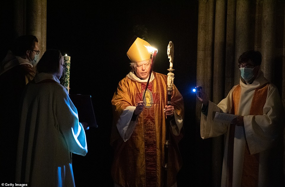 The lighting of the Paschal candle is lit every year at Easter in Salisbury and is used during the Paschal season and then throughout the year on special occasions, such as baptisms and funerals