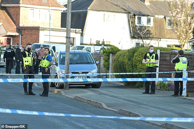Today, neighbours shared their shock after the shooting which saw police rush to the scene