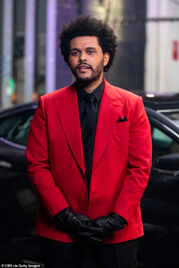 Generous: The Weeknd has donated $ 1 million to the United Nations World Food Program to help fight hunger in Ethiopia.  Seen in the February Super Bowl above