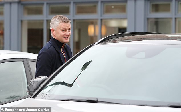 The Manchester United boss was leaving the Lowry Hotel in the city when the fan chased him