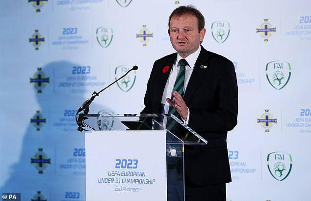 David Martin, who is front-runner to be FIFA president, hasn't been without past controversy
