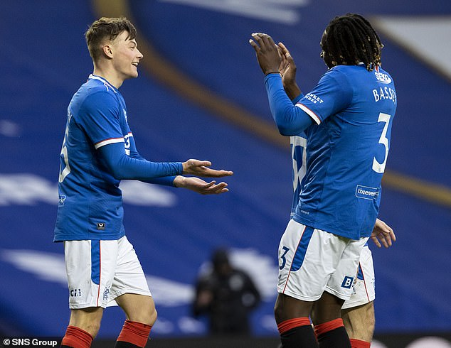 Rangers cruised to victory over Cove Rangers in the Scottish Cup on Sunday afternoon