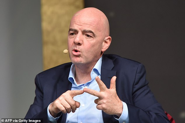 Martin failed three IFA competency tests but looks set to be working under Gianni Infantino