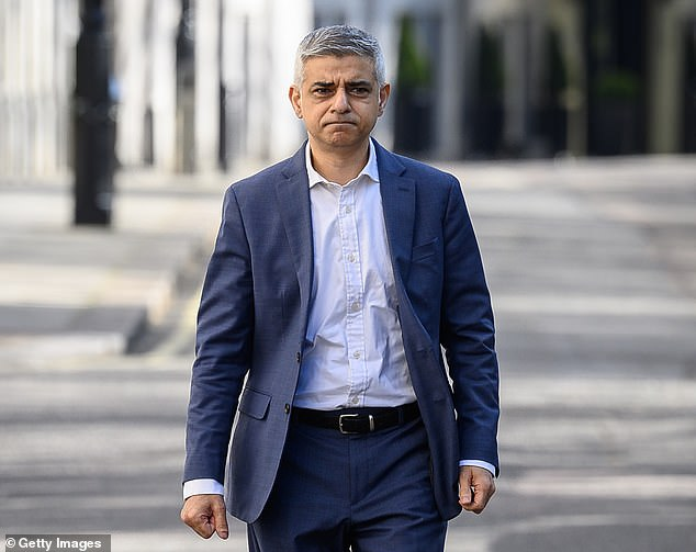 Mr Khan (pictured) said he was 'deeply disappointed' in Mr Stenner - as City Hall insiders blasted the aide for making 'an absolute mockery of lockdown rules and everyone who has diligently followed them'