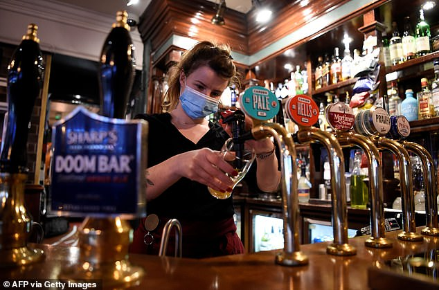 Ministers have ruled out making the passports compulsory in hospitality venues. But, raising the prospect of Covid passports brought in by stealth, a Government source told the Mail that those who do accept them could reap earlier benefits
