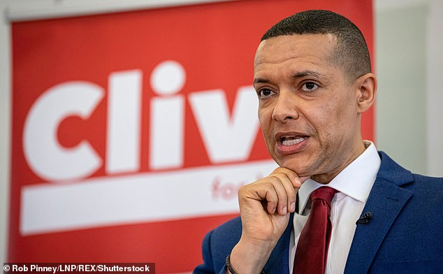A recent strategy document Starmer commissioned, leaked to The Guardian, advised Labour to 'make use of the [Union] flag' in order to win back such support — which only provoked the former shadow cabinet minister Clive Lewis, pictured, to complain of 'pandering to the nativist right'
