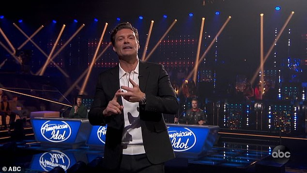 Promise:Show host Ryan Seacrest, 46, promised viewers it would be the most music Idol had ever shown in a two-hour span, featuring 24 songs—one a solo, one a duet