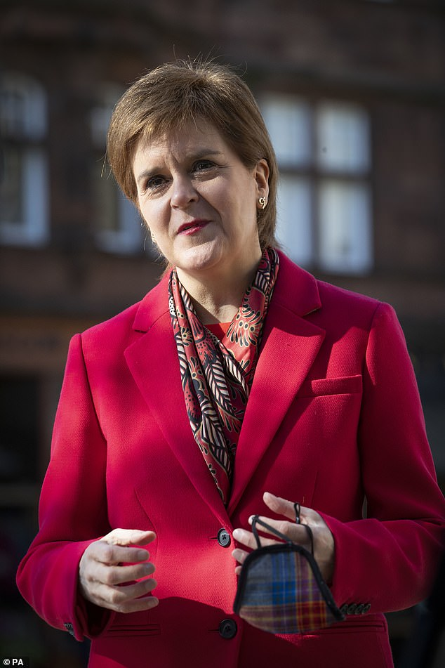 First Minister Nicola Sturgeon previously said she hopes the country will return to normality by the summer